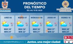 Continuarán nublados esta semana con posible aumento en temperaturas para jueves y viernes: PCM
