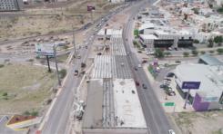 Realiza Obras Públicas cierre en Juventud y Valle Escondido por construcción de gaza