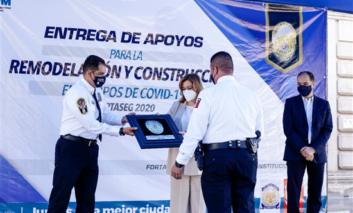 Entrega Alcaldesa apoyos a más de 1,300 policías para remodelación, construcción o adquisición de vivienda