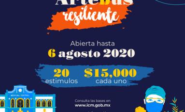 Apoyará Municipio a artistas y creadores afectados por la contingencia con Artebús Resiliente