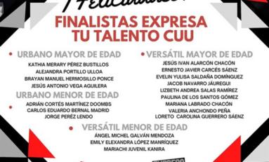 Presenta Gobierno Municipal a las y los finalistas de Expresa tu Talento CUU