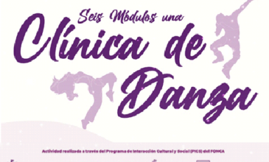 Invita Municipio a bailarines y artistas a participar en taller virtual Clínica de Danza