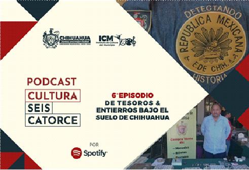 Invita Municipio a escuchar el sexto episodio del podcast Cultura Seis Catorce