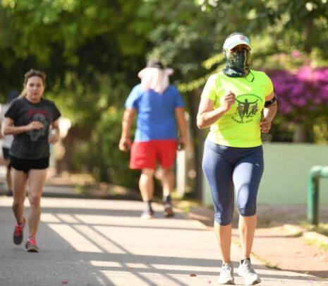 Exhorta Municipio a seguir medidas preventivas en activación física al aire libre