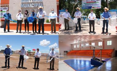 Inauguran obras en Santa Isabel: 10.8 mdp de inversión del Programa Desarrollo, Paz y Reencuentro