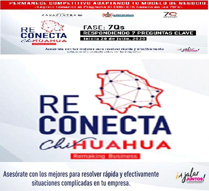 Invitan CANACINTRA y Municipio al programa Reconecta Chihuahua con metodología 7Q