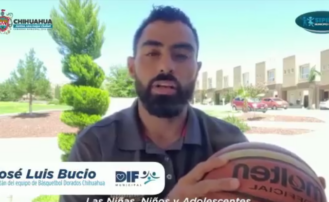 Invita capitan de equipo de basquetbol Dorados de Chihuahua a denunciar maltrato infantil