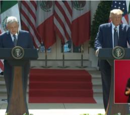 La relación de México - Estados Unidos nunca ha sido más estrecha: Trump