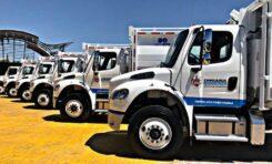 Entrega Alcaldesa Maru Campos equipo por 31.5 mdp a Servicios Públicos: barredoras, camiones, camionetas y minicargadores
