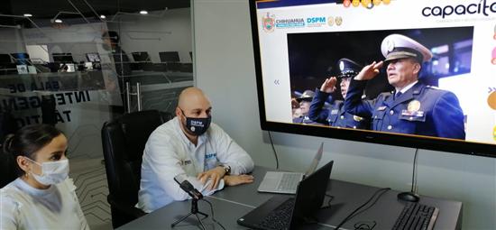 Presenta Escuela de Policía página gratuita de capacitación preventiva abierta a la ciudadanía