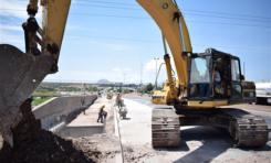 Inician trabajos de instalación de tubería del colector de aguas residuales Mimbre Sacramento
