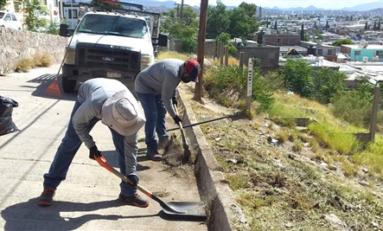 Atendió Municipio 100 mil 990 metros lineales con limpieza en el mes de julio