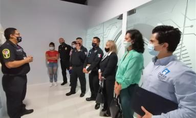 Conocen mandos policiales de Delicias programa Jóvenes a la Educación de la DSPM