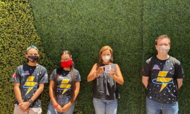 Destacan jóvenes chihuahuenses a nivel mundial con equipo de robótica Cosmic Voltage