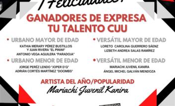 Presentan ganadores de concurso Expresa tu Talento 2020 en gran concierto final