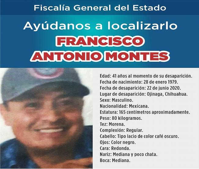 Buscan a hombre originario de Tlaxcala desaparecido en Ojinaga