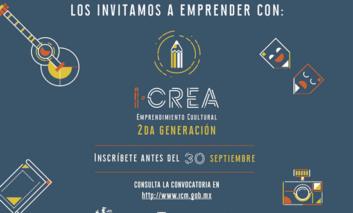 Invitan a participar en segunda emisión de iCREA modalidad virtual