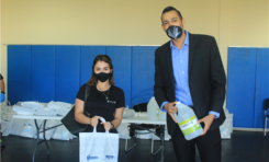 Comienza Gobierno Municipal entrega de 221 kits preventivos por reactivación en gimnasios y espacios deportivos