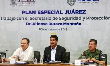 Rompe Federación relaciones con Chihuahua en seguridad: Corral
