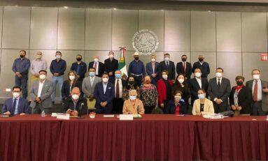 Alcaldes, legisladores y Secretaría de Gobernación establecen mesa de diálogo