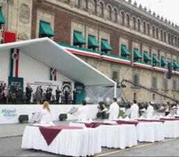 22 trabajadores de la salud del IMSS recibieron Condecoración Miguel Hidalgo por sus actos heroicos frente al COVID-19