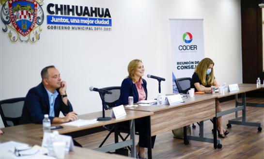 Participa Maru Campos en la última sesión de CODER a cargo de Ernesto Hermosillo Seyffert
