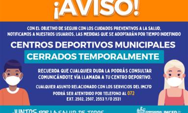 Reactiva Gobierno Municipal protocolos de semáforo naranja en áreas deportivas