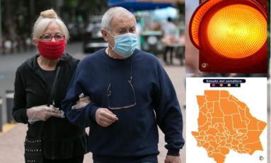 """Decreta Estado Semáforo """"naranja"""" de riesgo epidémico alto por coronavirus"""