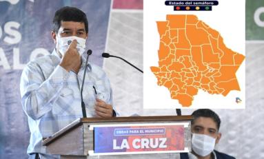 Todo Chihuahua pasa a semáforo naranja desde el lunes 19, anuncia Gobernador