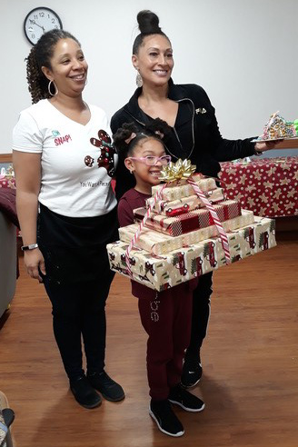 The winner of the Gingerbread Wars contest