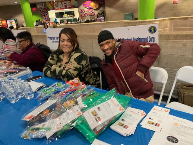 MNDC at Homeless Connect Day