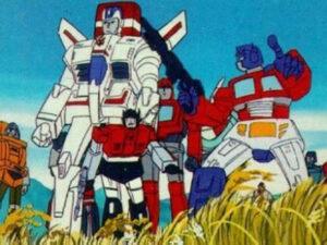 Millenial Cartoon - The Transformers