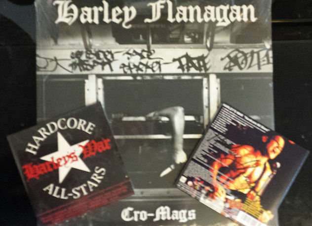 For a limited time order signed #Cromags LP & recieve a signed limited edition Japanese import Harley's War CD