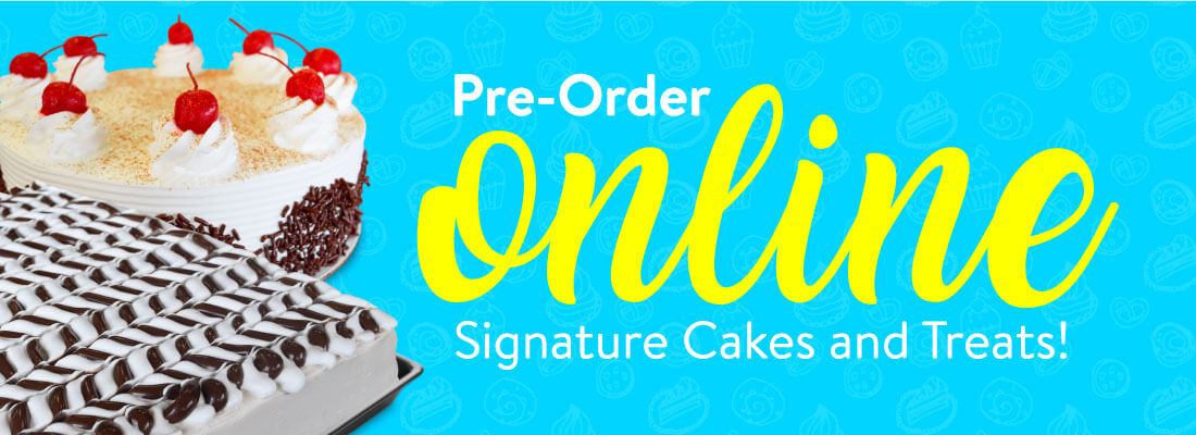 Winchell's Cakes Online Order