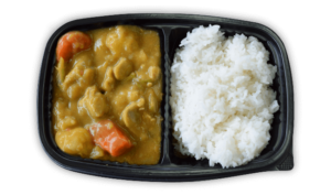 Winchell's Chicken Curry Platter