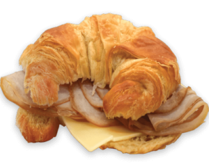 Winchell's Turkey, Egg & Cheese Croissant