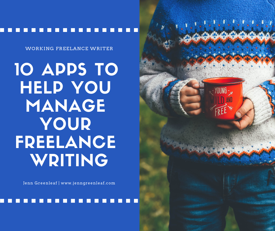10 Apps to Help You Manage Your Freelance Writing