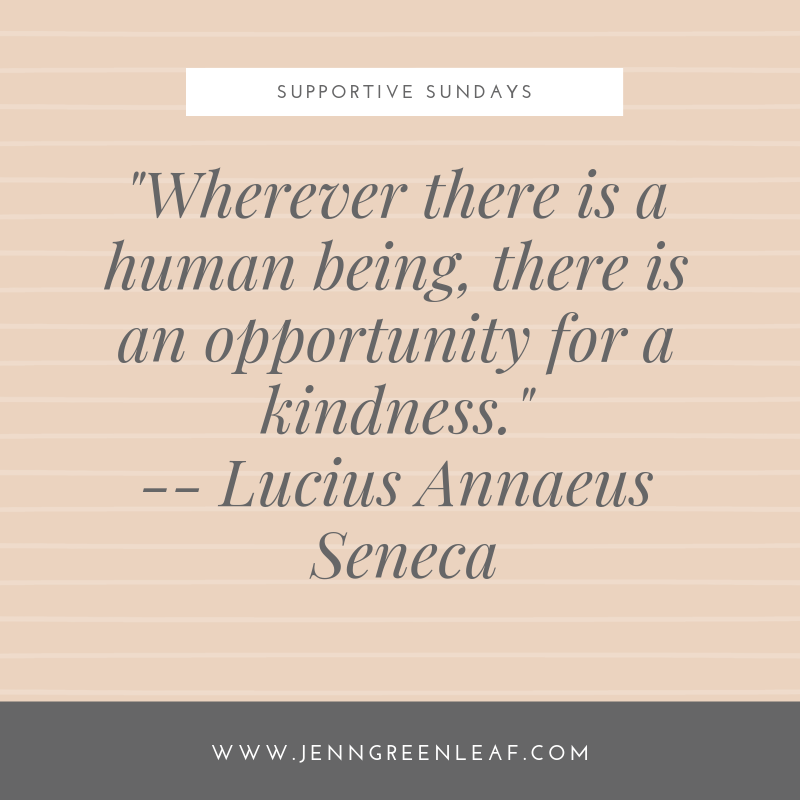 Supportive Sundays: Being There for Others