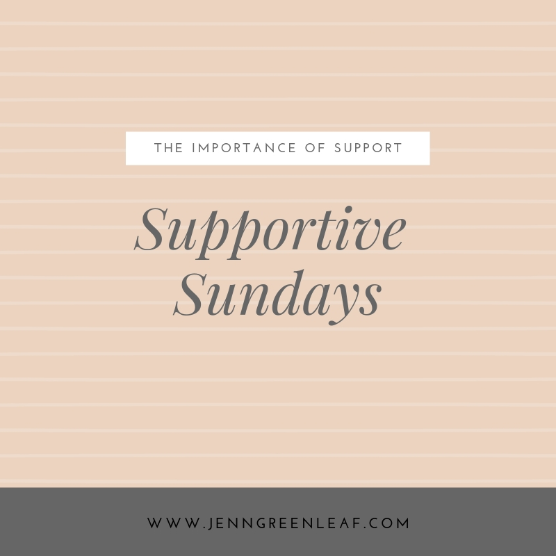 Supportive Sundays