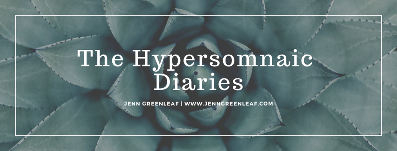 The Hypersomniac Diaries
