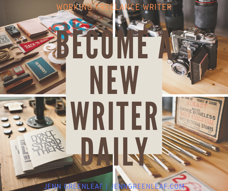 Become a New Writer Daily