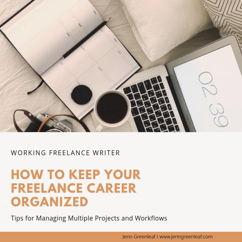 How to Keep Your Freelance Career Organized
