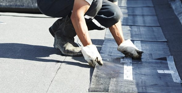 commercial roofing installation