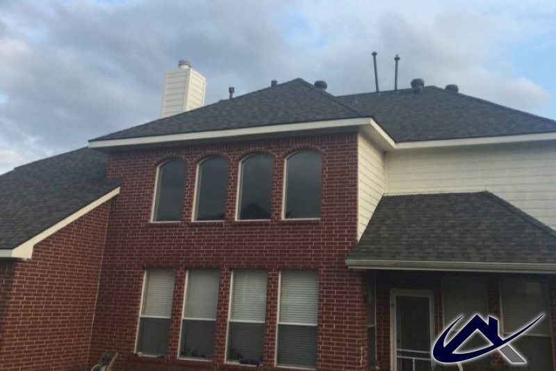 2 Story Home Rear Elevation