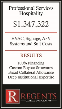 Hospitality services & hotel financing graphic