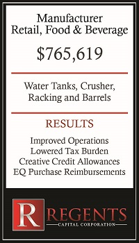 Food and beverage manufacturer restaurant equipment financing graphic