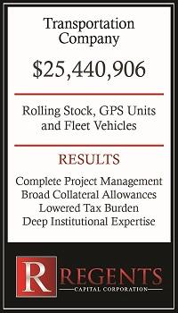 Transportation company heavy equipment financing graphic
