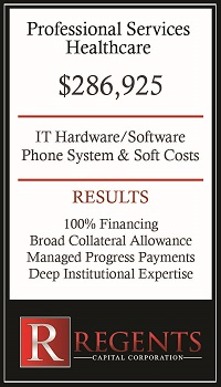 Professional healthcare capital equipment leasing companies graphic