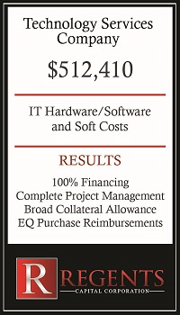 Technology services financing graphic