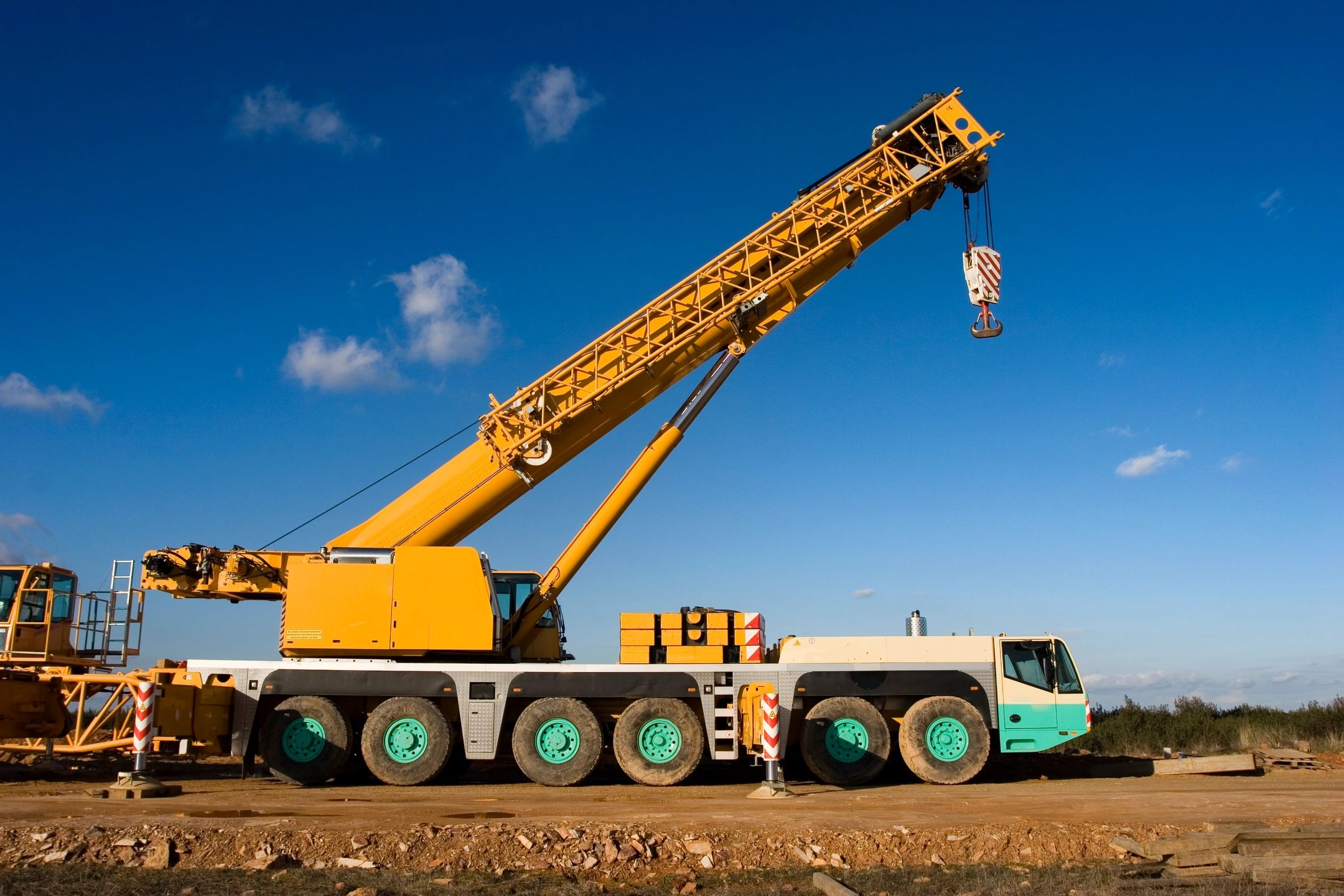 Crane from construction equipment financing
